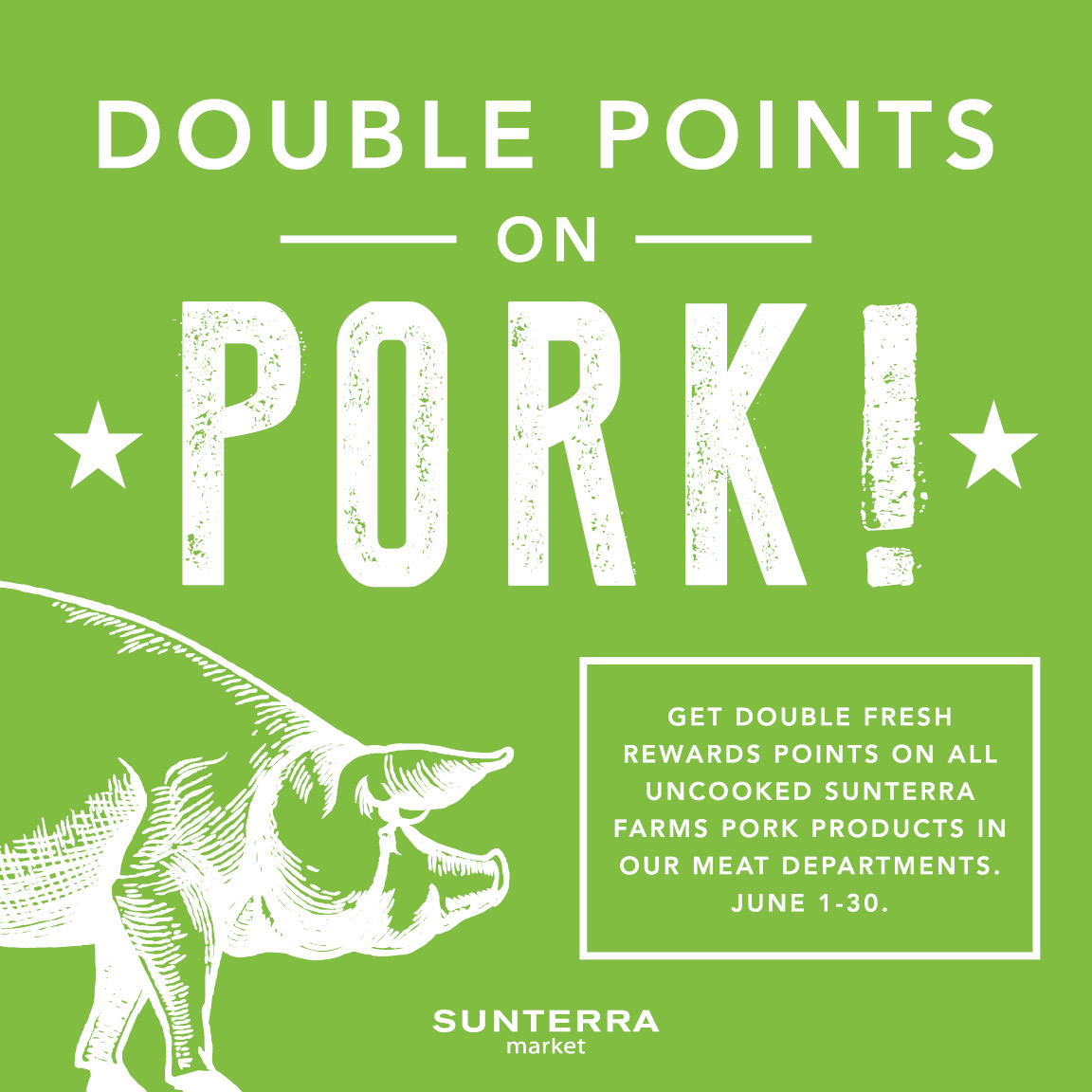 Double Points on Pork!