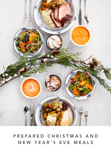 Prepared Christmas and New Year's Eve Meals