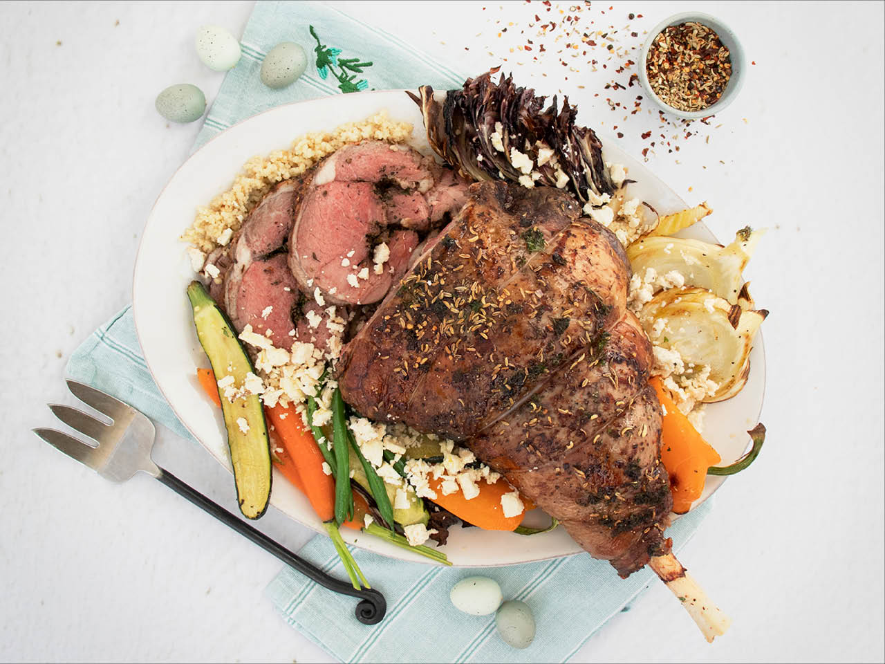 Mediterranean Roast Leg of Lamb