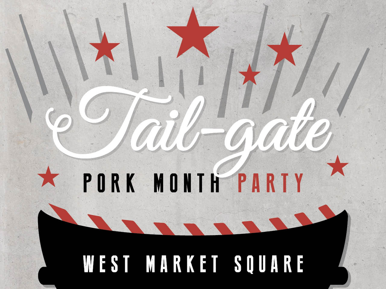 West Market Square Tail-gate
