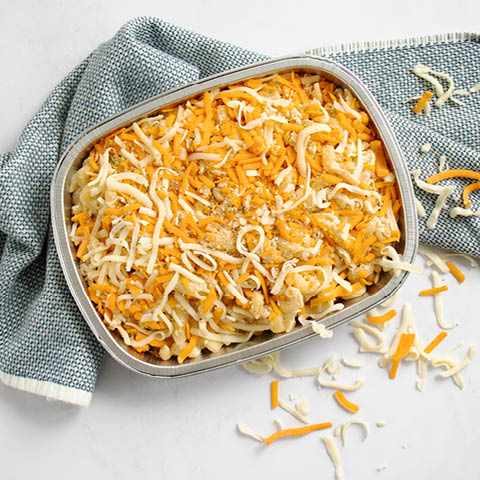 Mac and Cheese Baked Pasta Dinner