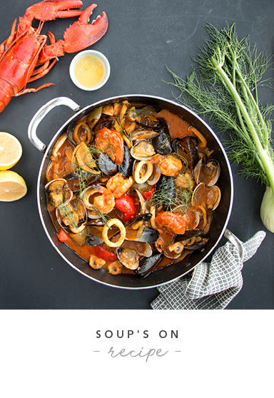 Shellfish and Fennel Soup