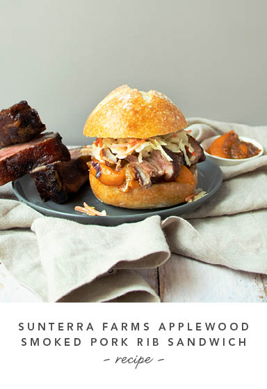 Sunterra Farms Applewppd Smopked Pork Rib Sandwich Recipe