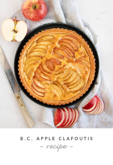 B.C. Apple Clafoutis Recipe